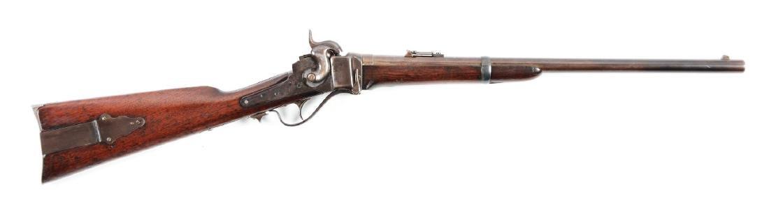 (A) 1863 New Model Sharps Percussion Breechloading