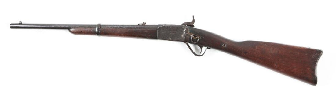 (A) Peabody Percussion Saddle Ring Carbine. - 2