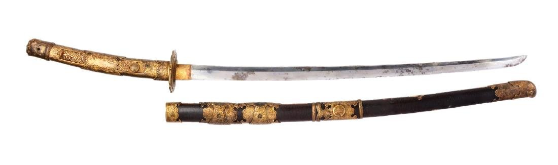 Early Shinto Tachi Japanese Sword.