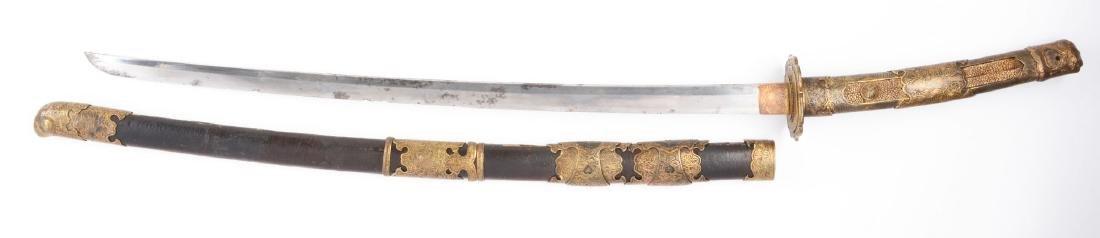 Early Shinto Tachi Japanese Sword. - 2