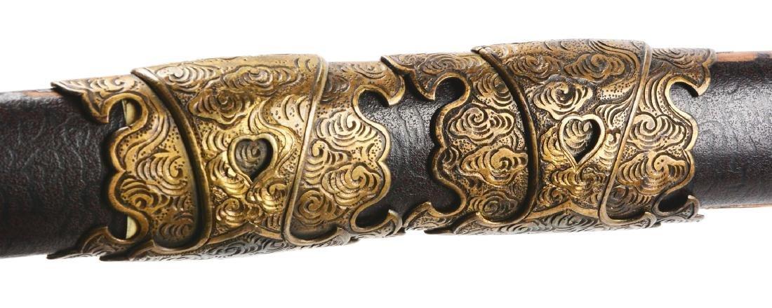 Early Shinto Tachi Japanese Sword. - 6