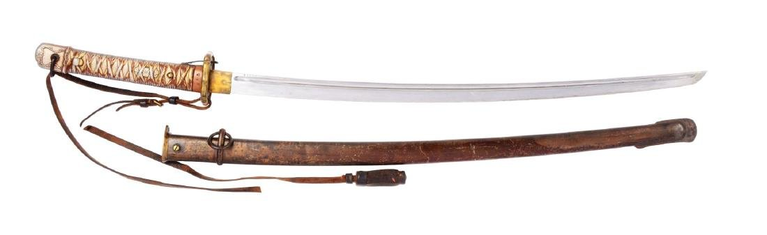 World War Two Japanese NCO Sword.