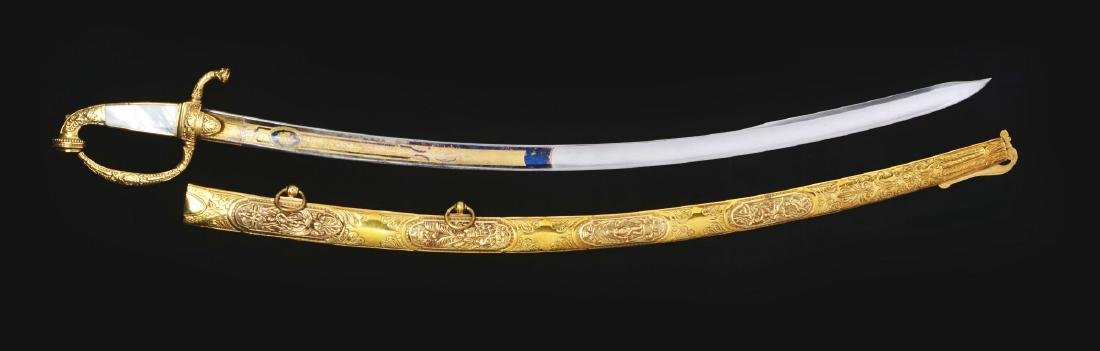 Historic and Attractive French Saber Attributed to