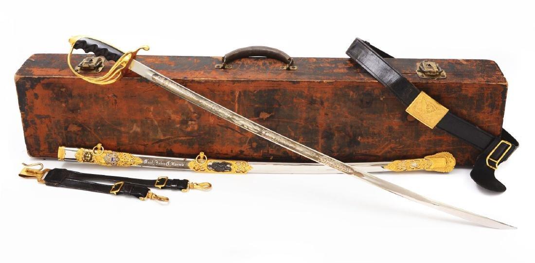 Fine U.S. Model 1902 Officers Presentation Sword with