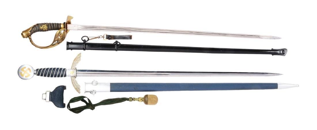 Lot of 2: German Swords.