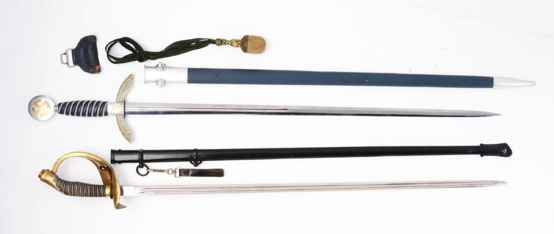 Lot of 2: German Swords. - 2