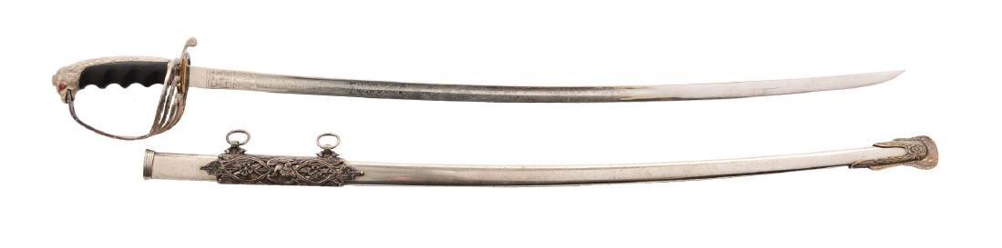 U.S. Model 1902 Officers Eagle Head Pommel Sword