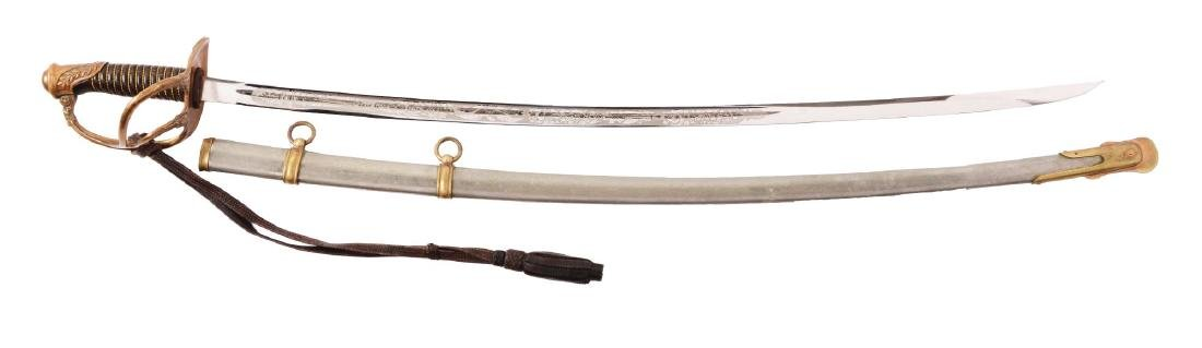 French-Hilted U.S. Officers Saber Presented to