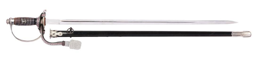 German World War II Police NCO Sword.