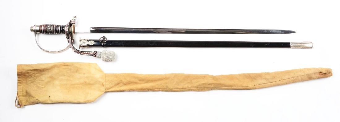 German World War II Police NCO Sword. - 7