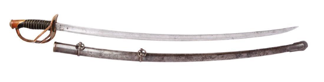 U.S. Model 1860 Cavalry Saber by Emerson & Silver.