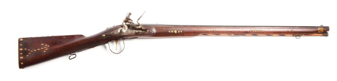 (A) Contemporary Northwest Trade Musket.