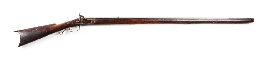 (A) Fullstock Percussion Kentucky Rifle by Lower Made