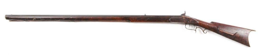 (A) Fullstock Percussion Kentucky Rifle by Lower Made - 2