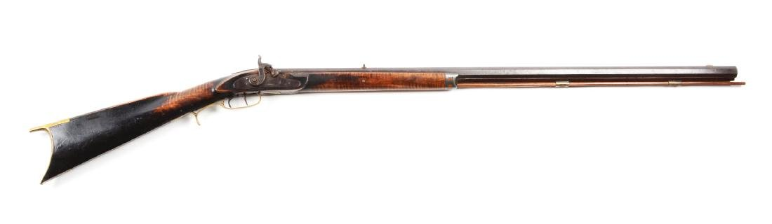 (A) Half Stock Percussion Kentucky Rifle.