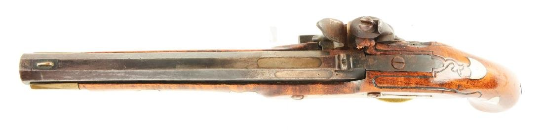 (A) Flintlock Kentucky Pistol. - 3