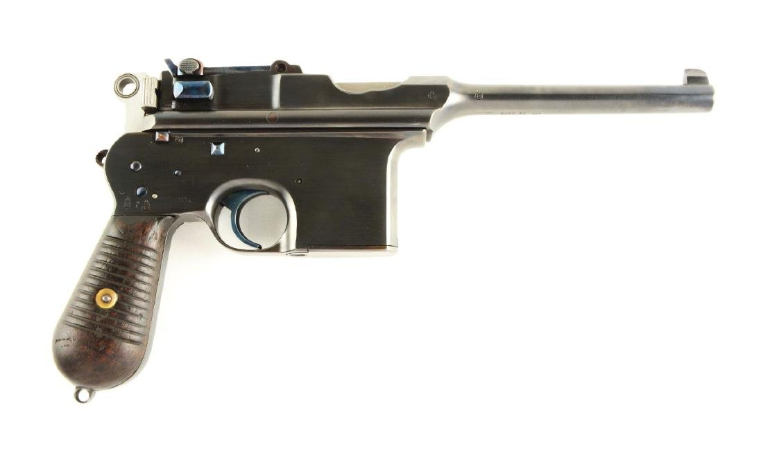 (C) British Proofed Astra Model 900 Semi-Automatic