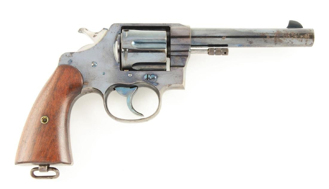(C) U.S. Colt Model 1909 Revolver with Rig & Paperwork. - 2