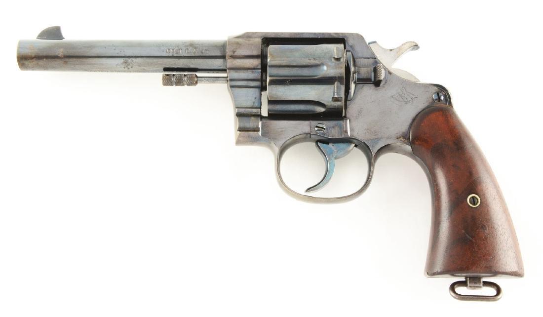 (C) U.S. Colt Model 1909 Revolver with Rig & Paperwork. - 3