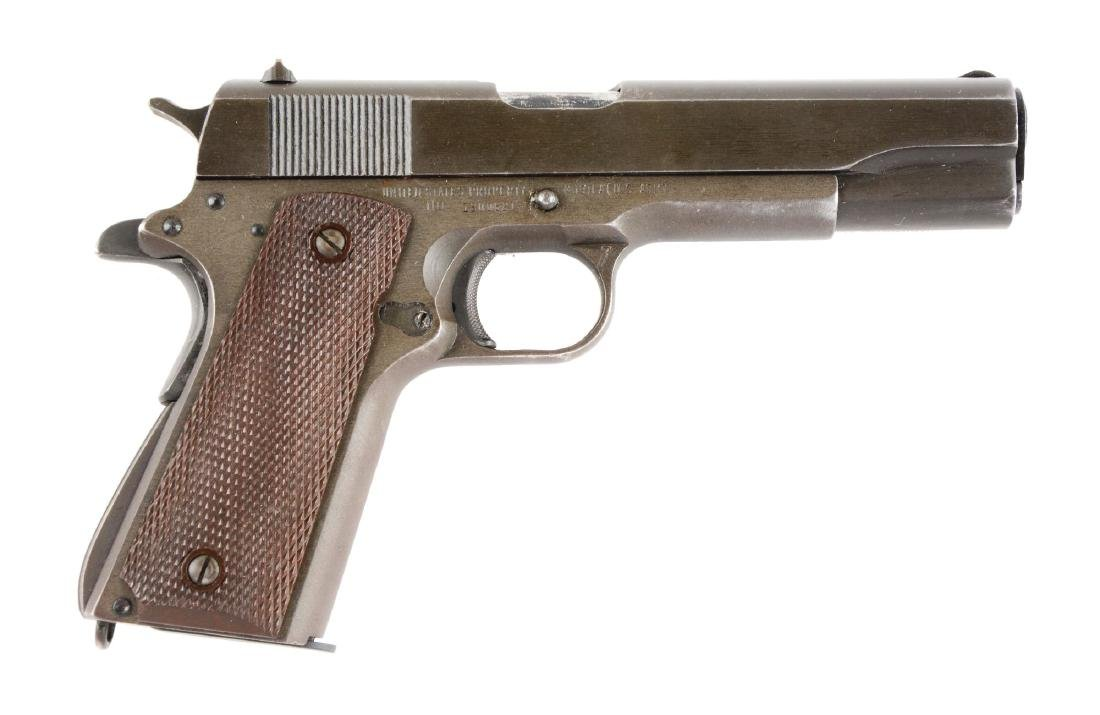 (C) Remington Rand Model 1911-A1 Semi-Automatic Pistol.