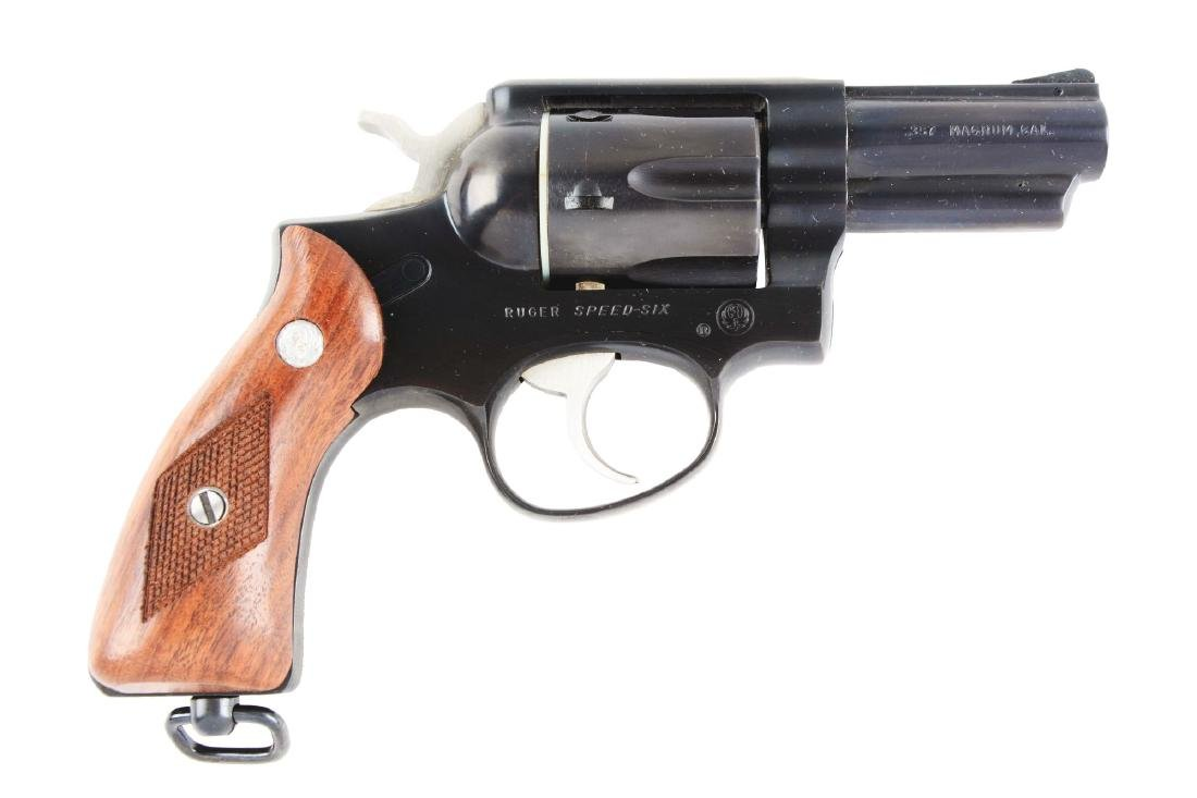 (M) Scarce Ruger Government Model Speed Six Revolver.