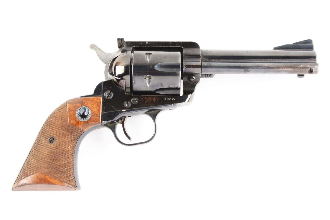 (C) Ruger Blackhawk Single Action Revolver.