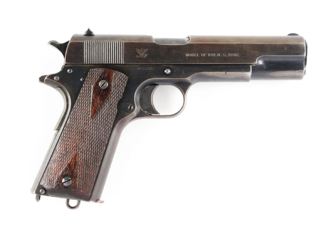 (C) U.S. Springfield Model 1911 Semi-Automatic Pistol