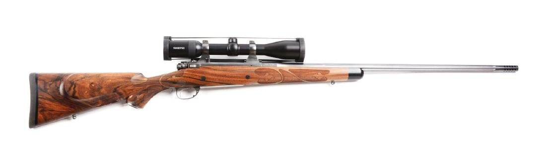 (M) Custom .300 Remington John Bolliger Bolt Action
