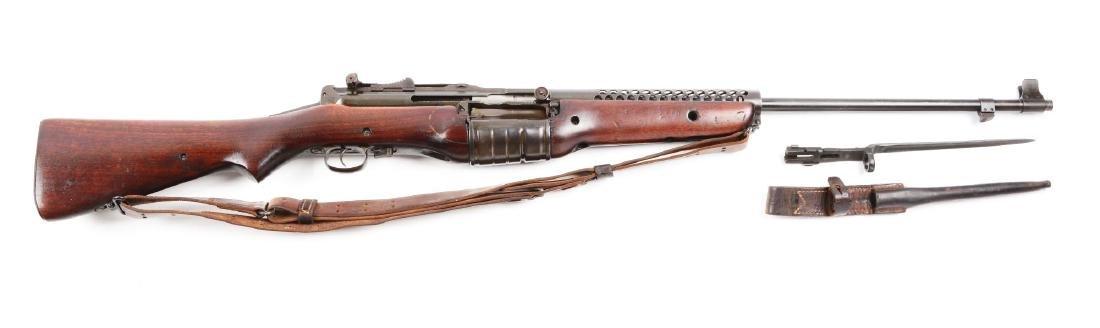 (C) Cranston Model 1941 Johnson Semi-Automatic Rifle.