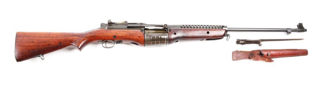 (C) Rare Chilean 1941 Contract Johnson Semi-Automatic