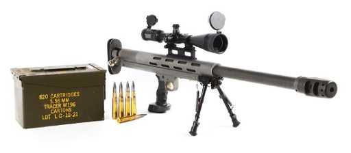 M Lar Grizzly Big Boar 50 Bmg Single Shot Target