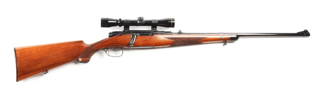 (C) Mannlicher Schoenauer Model 1952 Bolt Action Rifle.
