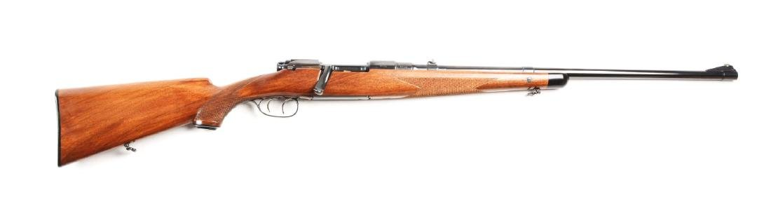 (C) Mannlicher Schoenauer Model GK Bolt Action Rifle.