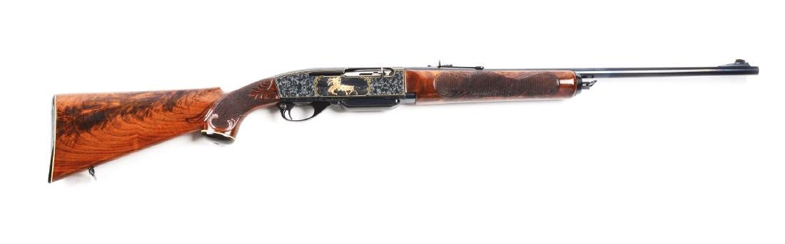(C) Master Engraved & Gold Inlaid Remington Model 740