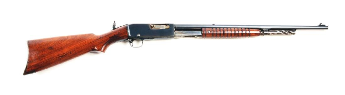 (C) Remington Model 14 Slide Action Rifle.