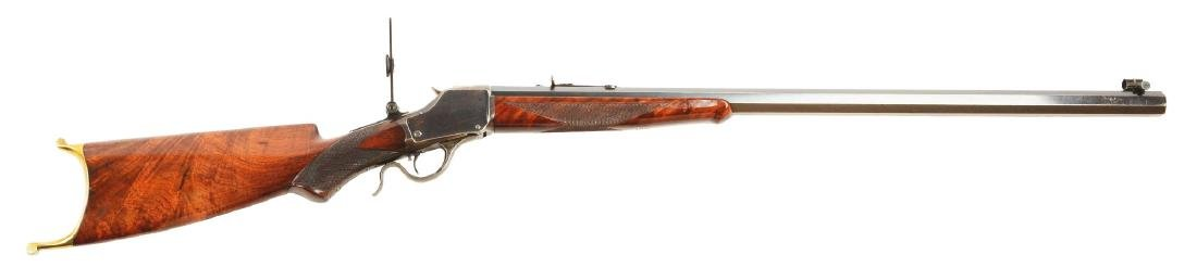 (C) Exceptional Winchester Model 1885 Deluxe Single