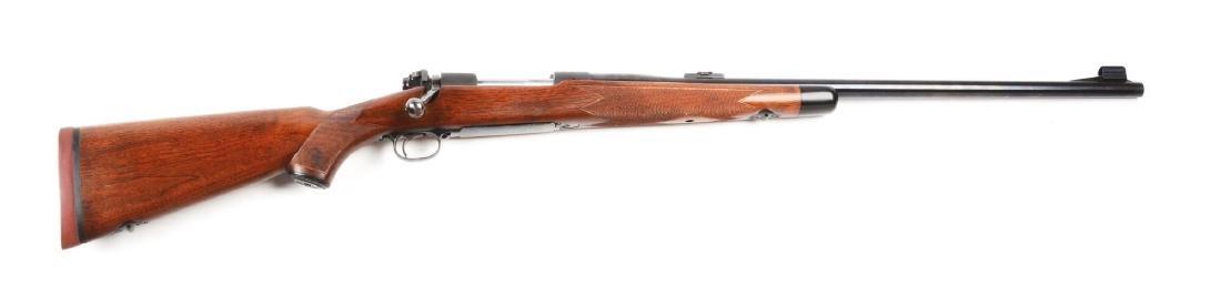 (C) Pre-64 Winchester Model 70 .375 H&H Super Grade