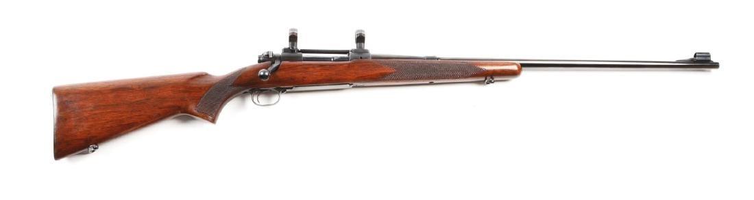 (C) Pre-64 Winchester Model 70 Bolt Action Rifle (.300