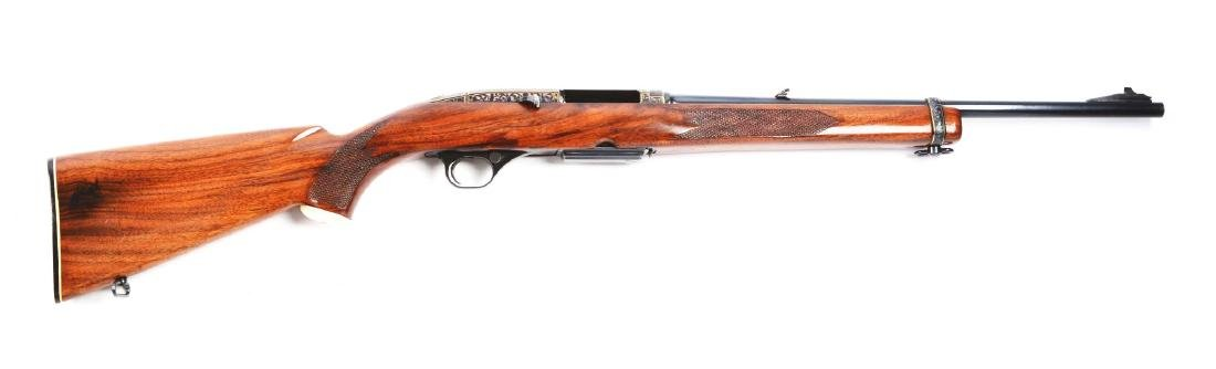 (C) Deluxe Engraved Winchester Model 100 Semi-Automatic