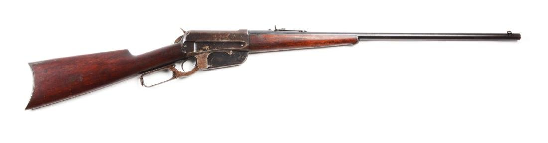 (C) Winchester Model 1895 Lever Action Rifle (.38-72