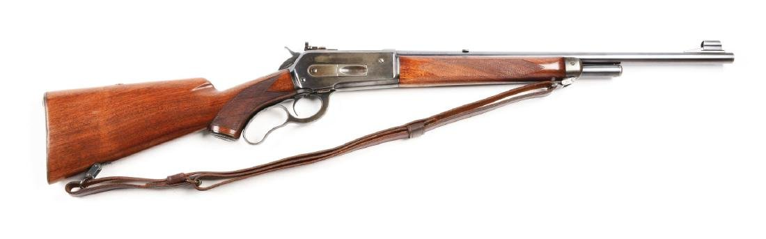(C) Deluxe Winchester Model 71 Lever Action Carbine
