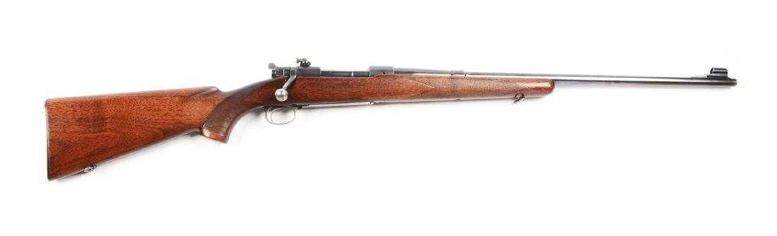 (C) Pre-War Winchester Model 70 7mm Bolt Action Rifle