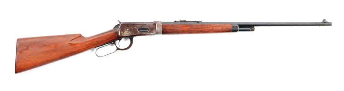 (C) Winchester Model 55 Takedown Lever Action Rifle.