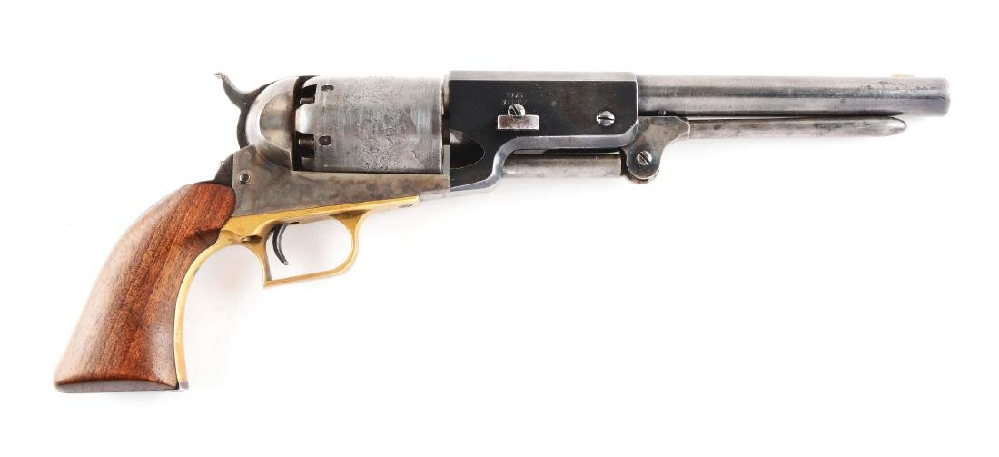 (A) Custom Made Presentation Colt Walker Dragoon.