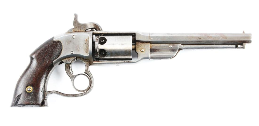 (A) Savage - North Percussion Navy Model Revolver.
