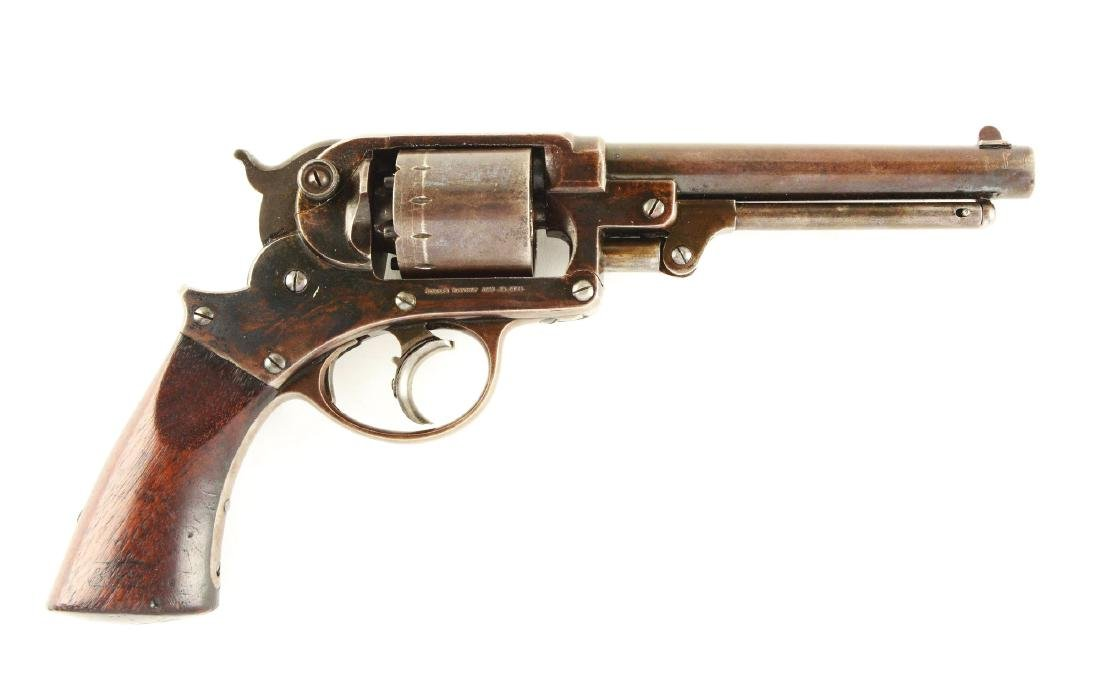 (A) U.S. Starr Arms Company Double Action Revolver.
