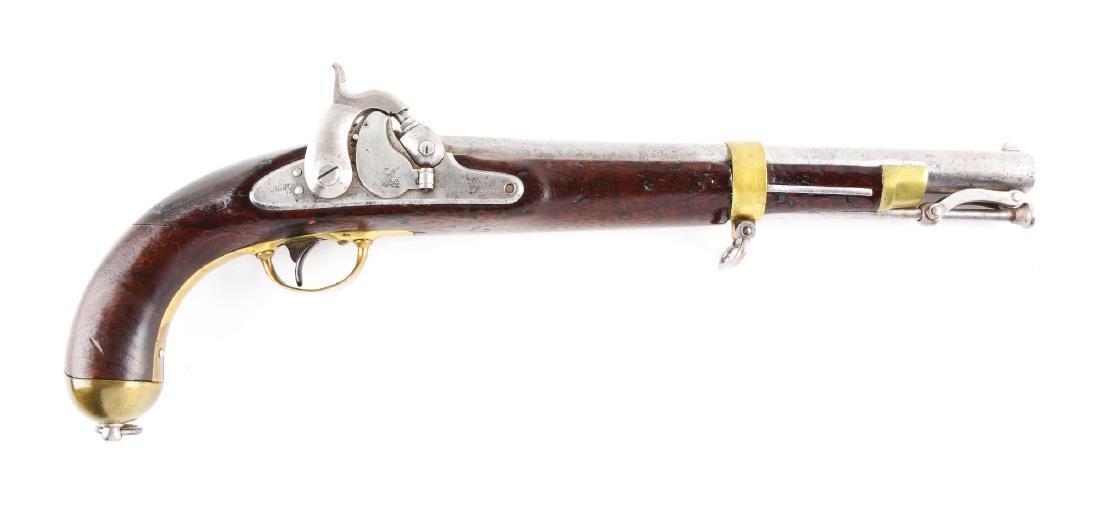 (A) U.S. Springfield Model 1855 Single Shot Percussion