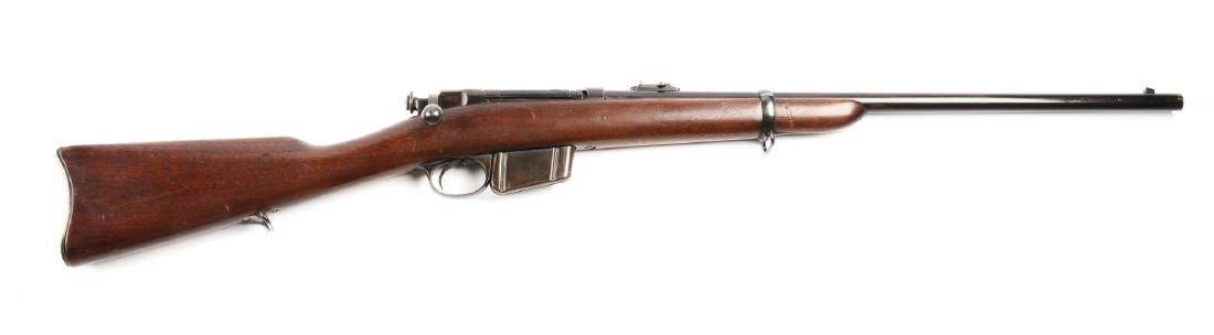 (A) Remington Lee Bolt Action Military Carbine.