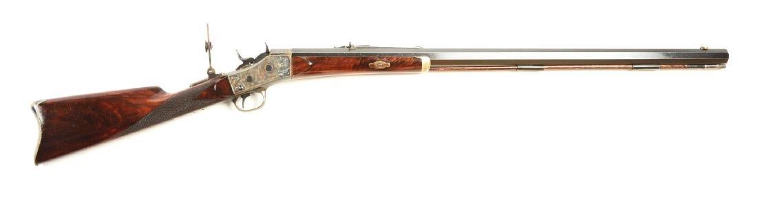 (A) Custom Remington Engraved Rolling Block Sporting