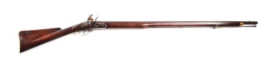 (A) English Flintlock Militia Musket by Sharpe Made for
